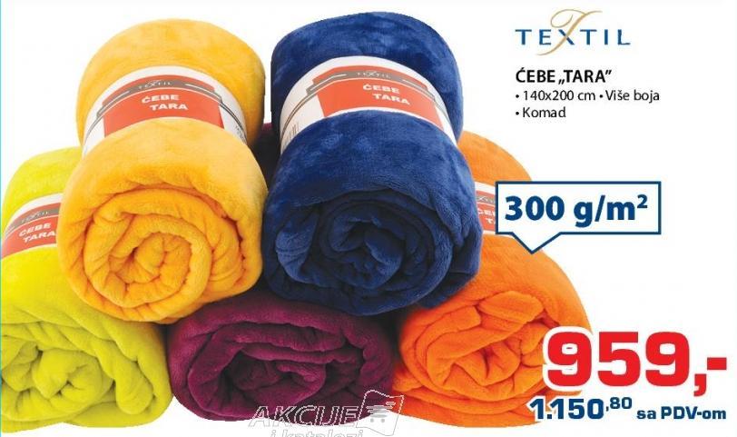 Ćebe Tara Textil