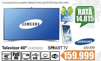 Televizor LED UE40F8000