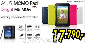 Tablet MemoPad-ME172V