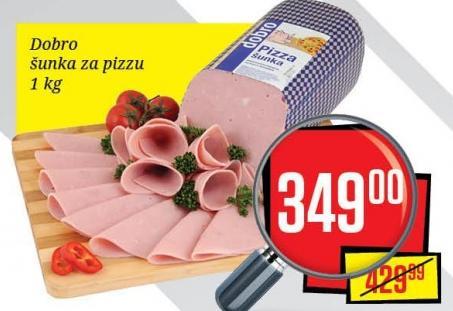 Šunka pizza