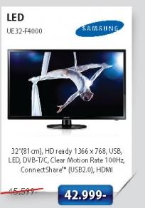 LED Televizor UE32-F4000