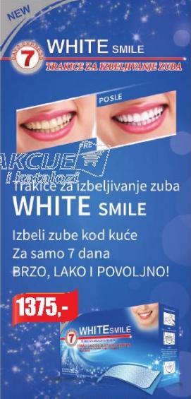 Trakice za izbeljivanje zuba