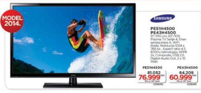 """Televizor LED 51"""" PE51H4500"""
