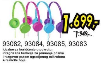 Slušalice 93085