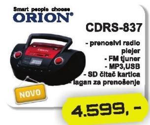 Radio CD Cdrs-837