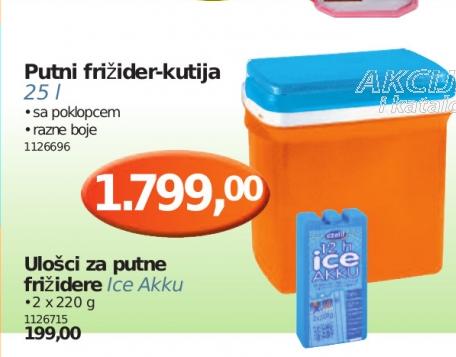 Putni frižider 25l