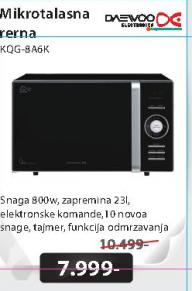 Mikrotalasna KQG-8A6K