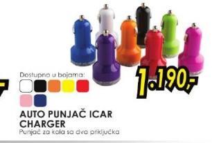 Auto punjač Icar charger