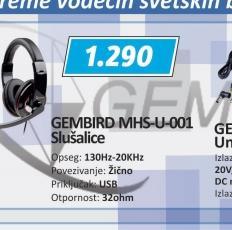Slušalice MHS-U-001
