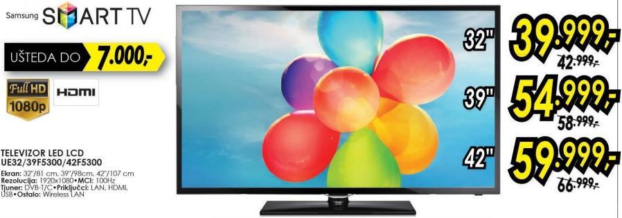 "Televizor LED 32"" Ue32f5300"