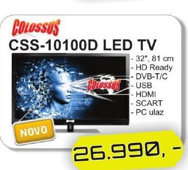 Televizor CSS10100D