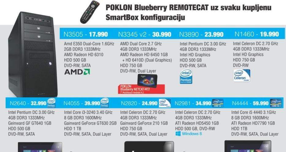 Desktop računar N3890