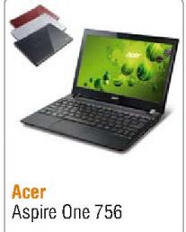 Laptop Aspire One 756