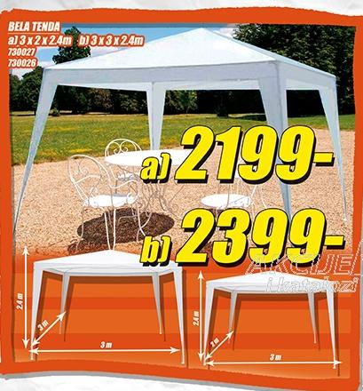 Bela tenda 3x2x2,4m