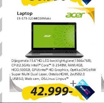 Notebook E1-571-32344G50Maks