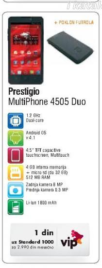Mobilni Telefon MultiPhone 4505 Duo