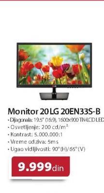 """Monitor 20""""  20EN33S"""