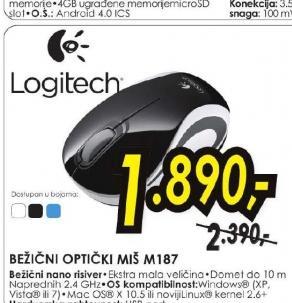 Bežični optički miš M187