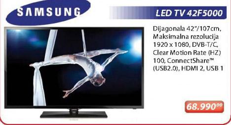 LED Tv 42F5000