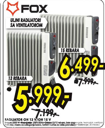 Uljani radijator OH 13V