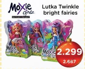 Lutka TwinkleBright Fairles Moxie