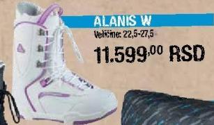 Cipele Alanis W za Snowboard