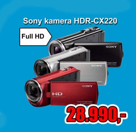 Digitalna kamera HDR-CX220ER