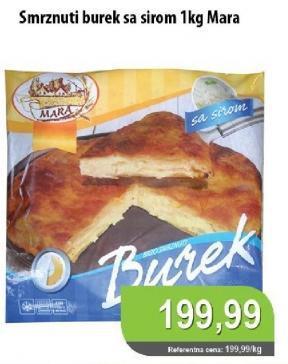 Smrznuti burek sir