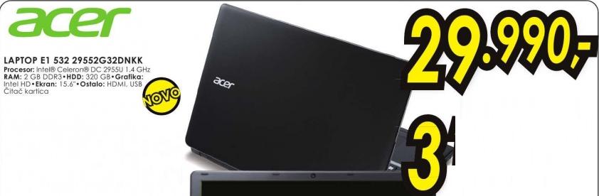 Laptop E1 532 29552G32DNKK