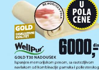 Naddušek  Gold T30