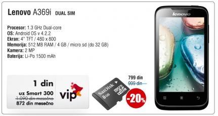 Mobilni telefon A369i