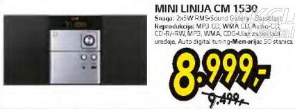 Mini linija CM 1530