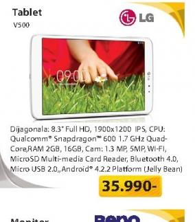Tablet V500.AHUNWH