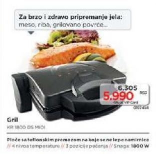 Grill Toster Kr 1800 Ds Midi
