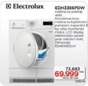 Mašina za sušenje veša EDH 3386 PDW