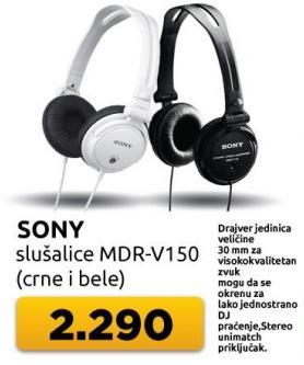 Slušalice Mdr-v150