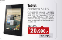 "Tablet  Iconia A1-810 8"",QC MTK8125"