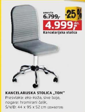 Kancelarijska stolica Tom