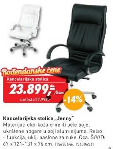 Kancelarijska stolica Jenny