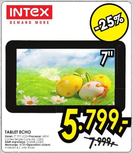 Tablet Echo Intex