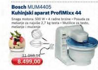 Kuhinjski aparat ProfiMixx MUM4405