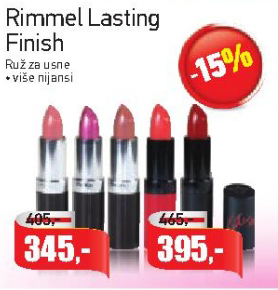 Karmin Lasting Finish