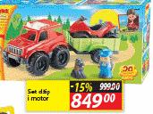 Igračka džip i motor