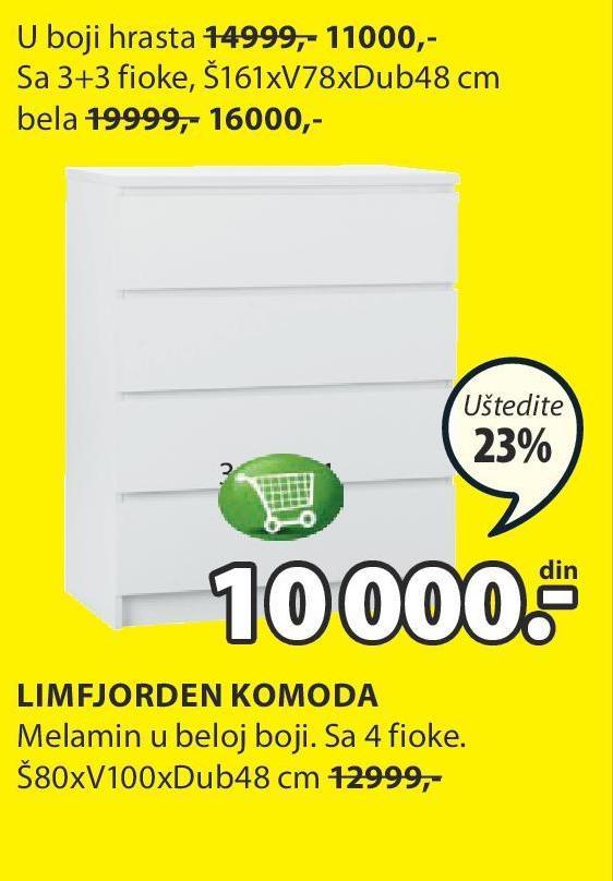 Akcija Jysk Komoda Limfjorden 886757