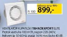 Ventilator kupatilski, Tehnoexport Elite