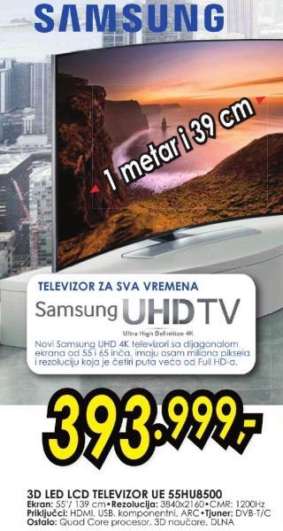 """Televizor LED 55"""" 3D Ue55hu8500"""