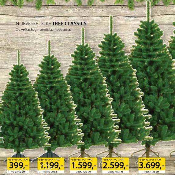 Norveška jelka Tree Classic 125cm