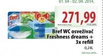 WC osveživač Freshness dreams