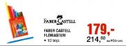 Flomasteri Faber Castell