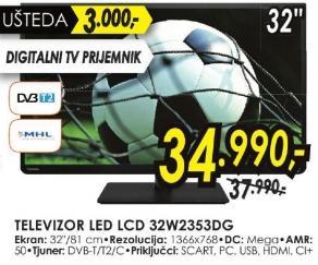 """Televizor LED 32"""" 32w2353dg"""